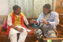Kolkata: Actor Mithun Chakraborty Meets BJP Leader Kailash Vijayvargiya Ahead Of PM Modi's Rally