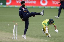 2nd ODI: Iyer Direct Hit Ends Warner's Stay