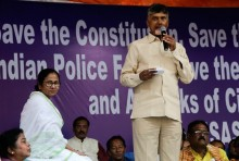 TDP Chief Naidu, Mamata Discuss Formation Of Non-BJP Govt With Congress Support