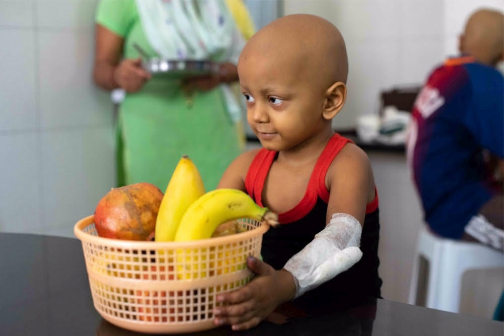 For Children With Cancer, Nutrition Can Mean The Difference Between Life And Death