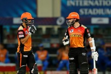 SRH Vs DC: Hyderabad Set 220-run Target After Warner, Saha Onslaught