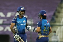 RR Vs MI: Tyagi Breaks Stand, Kishan Out; Mumbai  91/2 (11)
