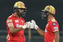 Mayank, Rahul Fifties Takes PBKS To 195/4