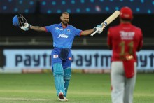KXIP Vs DC: Record-breaking Dhawan Powers Delhi To 164/5