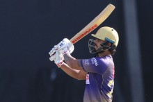 KKR Vs DC: Cummins Strikes Of First Ball Removes Rahane