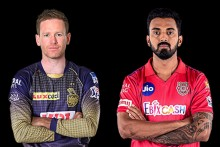 KKR Vs KXIP: Maxwell Strikes First Over, Rana Out For Duck; Kolkata 9/1 (1)