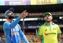 1st ODI, Sydney: India Lose Wickets In Hurry, Dhawan, Pandya Only Hopes