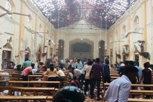 Serial Blasts Rock Colombo On Easter, Nine Foreigners Among 140 Killed