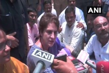 Priyanka Gandhi Detained On Her Way To Visit Families Of 10 Killed In Sonbhadra Clash