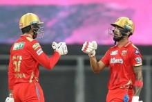 Rahul, Hooda Blitz Helps PBKS Post 221/6