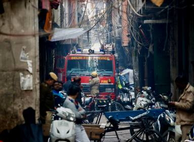 Delhi Anaj Mandi Fire: Factory Owner Detained, Crime Branch Probes Accident