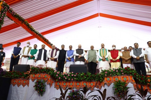 24 New Ministers Sworn In To Gujarat Cabinet, Bhupendra Patel To Hold First Meeting As CM