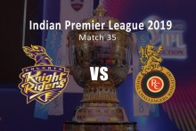 IPL 2019, Live Cricket Score, KKR Vs RCB: Moeen, Kohli Strangle KKR