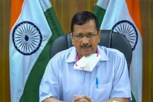 Kejriwal Flags Oxygen Shortage
