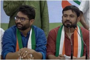 Kanhaiya Kumar Joins Congress, Dalit Leader Jignesh Mevani Extends Support