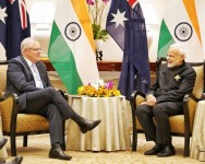 PM Modi Holds Virtual Summit With Australian Counterpart Scott Morrison