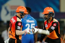 SRH Vs DC: Brilliant Start From Saha, Warner For Hyderabad