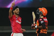 KXIP Vs SRH: Arshdeep Gets Shankar; Hyderabad Need 17 Off 12