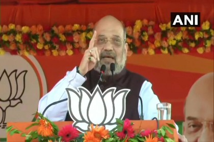 Amit Shah Kicks Off Jharkhand Poll Campaign, Accuses Congress Of Stalling Ayodhya Dispute, Kashmir Issue