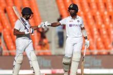 Rohit, Pujara Steady As India Eye Big Lead