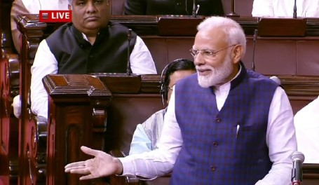 At Rajya Sabha's 250th Session, PM Modi Praises NCP, BJD For Adhering To Parliamentary Norms