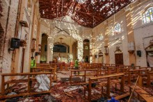 Sri Lanka Identifies Outfit Behind Blasts; Says All Suicide Bombers Lankan Nationals