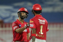 KKR Vs KXIP: KL, Mandeep Off To Cautious Start; Target 150