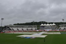 Rain Washes Out First Session; Kiwis Trail IND By 116 Runs