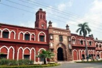 Two AMU Students Booked By UP Police Over Babri Demolition Anniversary Poster