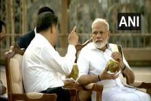 PM Modi Welcomes Chinese President Xi Jinping In Mamallapuram