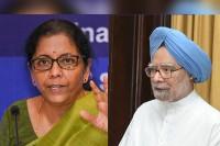 'Recalling When And What Went Wrong...' Sitharaman Slams Manmohan Singh