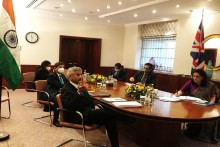 Jaishankar Holds Talks With UK Counterpart On Bilateral Trade, Covid Cooperation