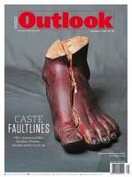 Broken Foot: An Artist's Comment On Caste