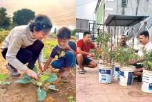 Our Big-Little Kitchen Garden
