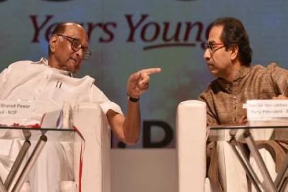 Uddhav Thackeray Meets Sharad Pawar At Midnight Over Maharashtra Govt Formation