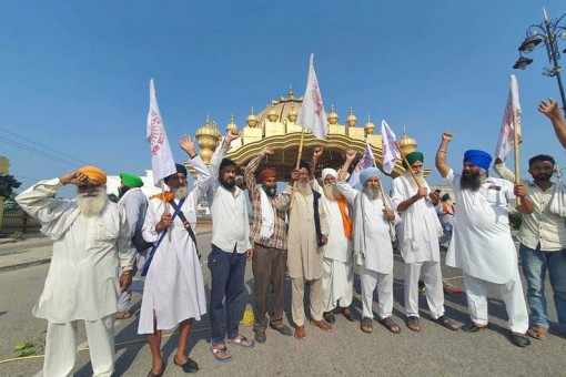 Bharat Bandh: Farmers Happy With 'Good Start' To Nationwide Strike Call