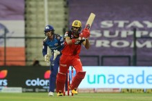 Bumrah's 3 For 14 Restricts RCB To 164 For Six, Padikkal Hits 74