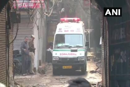 35 Dead, Several Injured In Massive Fire At Factory In Delhi's Anaj Mandi