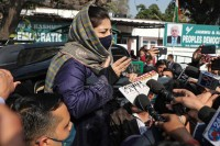 To Protest Israel's Atrocities Is A Punishable Offence In Kashmir: PDP Chief Mehbooba Mufti