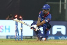 Dhawan Out For 92, Delhi Capitals Need 44 Of 30 Balls