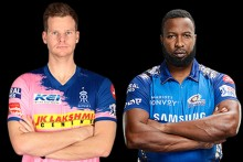 RR Vs MI: Hardik Pandya Fifty Powers Mumbai To 195/5