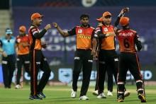 KKR VS SRH LIVE: Natarajan Gets  Rana; Kolkata Need 100 In 90