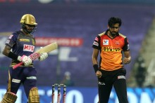 KKR VS SRH LIVE: Gill, Rana Show Intent; Kolkata Need 120 More