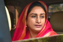 Akali Dal Can't Be Part Of Anti-Farmer Decision: Harsimrat Kaur