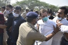 Rahul Gandhi 'Arrested' On Way To Hathras