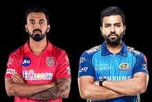 KXIP Vs MI LIVE: Close Call For Rohit, MI 8/1 (2)