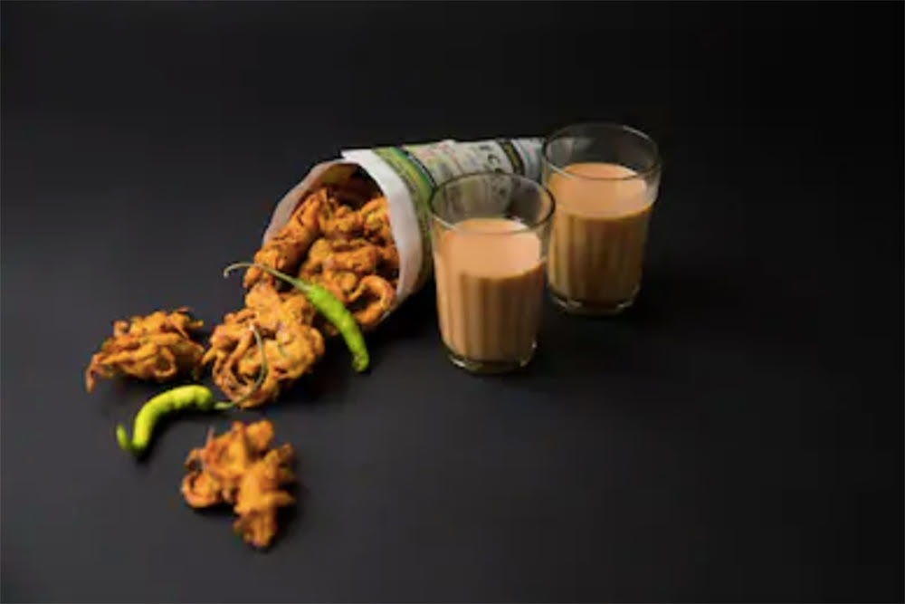 What Hides In A Quick Bite Of Pakoda