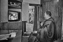 The Dalai Lama's Life In Pictures Captured By Raghu Rai