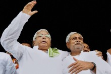 Nitish Banks Lalu's Votes