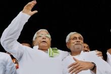 Nitish Banks Lalu's Votes